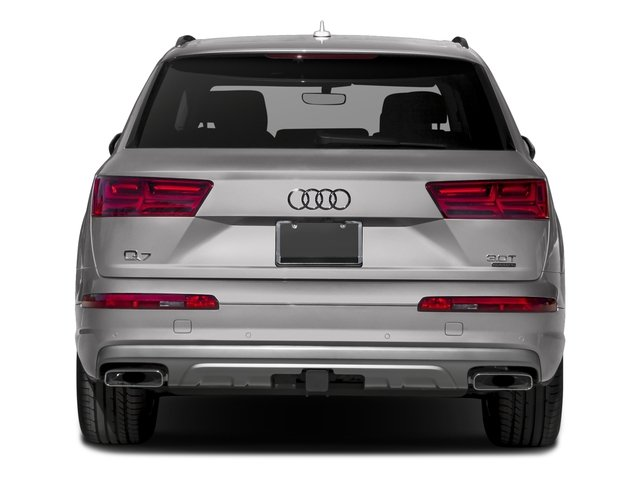 2017 Audi Q7 Base Price 3.0 TFSI Premium Pricing rear view