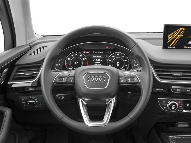 2017 Audi Q7 Prices and Values Utility 4D 3.0 Premium AWD driver's dashboard
