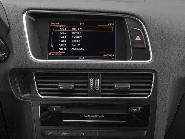2017 Audi Q5 Prices and Values Utility 4D 2.0T Premium Plus AWD stereo system