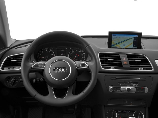 2017 Audi Q3 Base Price 2.0 TFSI Prestige quattro AWD Pricing driver's dashboard