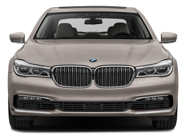 2017 BMW 7 Series Pictures 7 Series Sedan 4D 750xi AWD Turbo photos front view