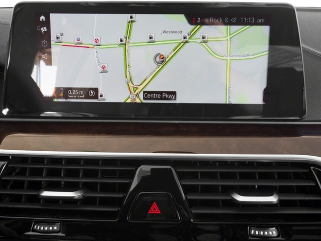 2017 BMW 5 Series Prices and Values Sedan 4D 540i I6 Turbo navigation system