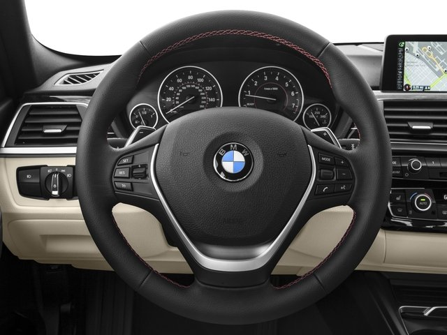 2017 BMW 3 Series Prices and Values Wagon 4D 330xi AWD driver's dashboard