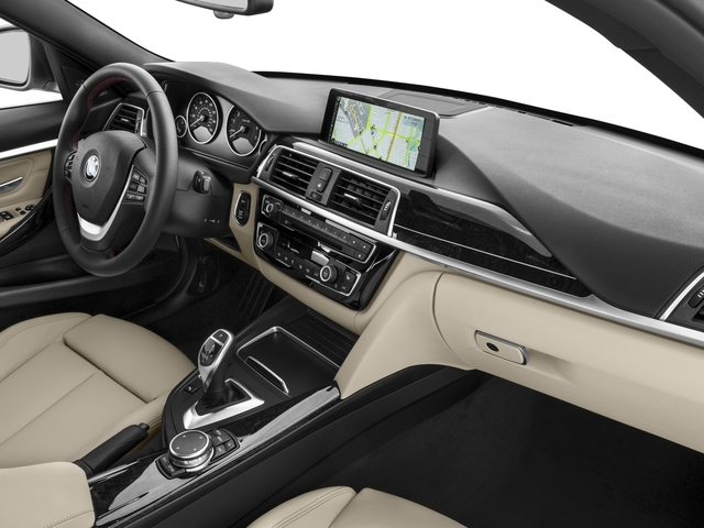 2017 BMW 3 Series Prices and Values Wagon 4D 330xi AWD passenger's dashboard