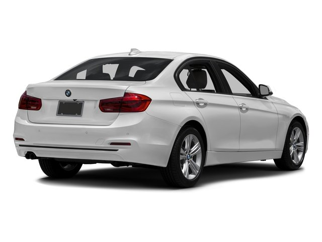 2017 BMW 3 Series Prices and Values Sedan 4D 330xi AWD side rear view