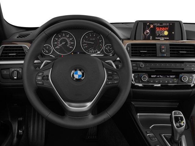 2017 BMW 3 Series Prices and Values Sedan 4D 330xi AWD driver's dashboard