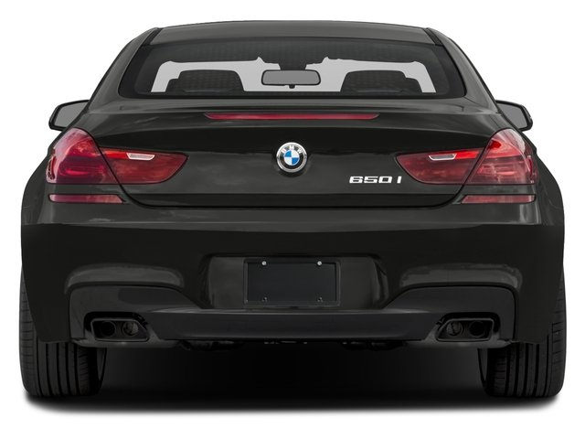 2017 BMW 6 Series Pictures 6 Series Coupe 2D 650i V8 photos rear view
