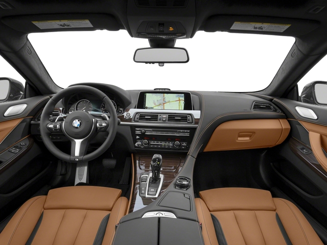 2017 BMW 6 Series Pictures 6 Series Coupe 2D 650i V8 photos full dashboard