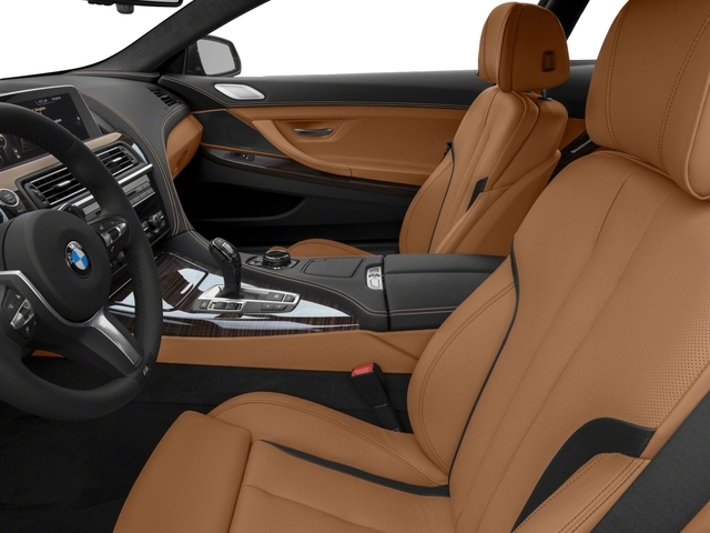 2017 BMW 6 Series Pictures 6 Series Coupe 2D 650i V8 photos front seat interior