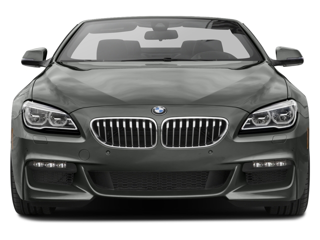 2017 BMW 6 Series Pictures 6 Series Convertible 2D 650i V8 photos front view