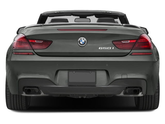 2017 Bmw 6 Series Base Price 650i Convertible Pricing Rear View