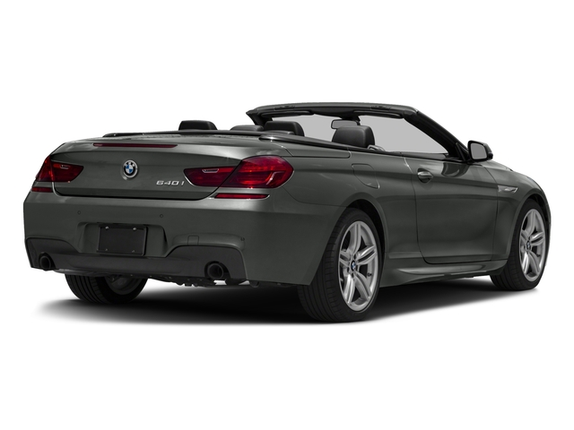 2017 BMW 6 Series Prices and Values Convertible 2D 640i I6 side rear view