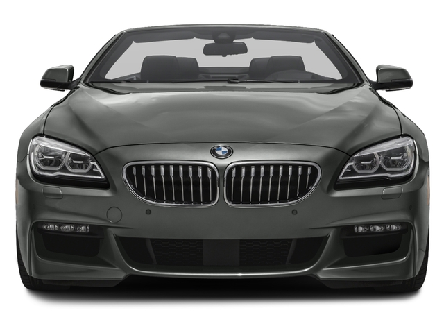 2017 BMW 6 Series Prices and Values Convertible 2D 640i I6 front view