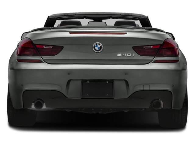 2017 BMW 6 Series Prices and Values Convertible 2D 640i I6 rear view