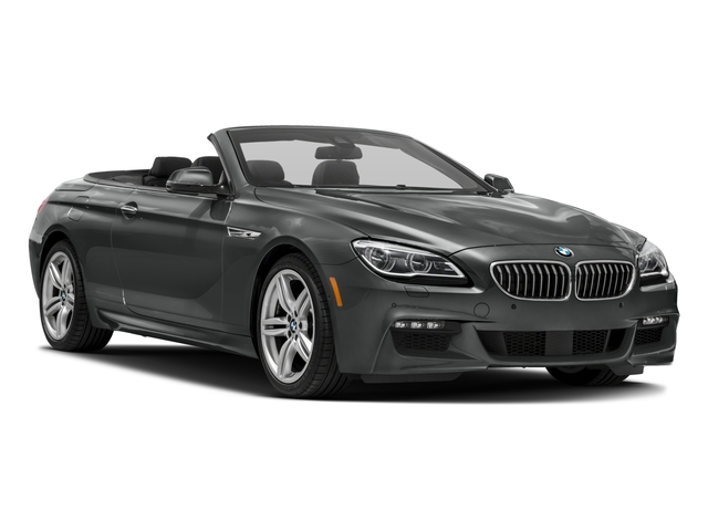 2017 BMW 6 Series Prices and Values Convertible 2D 640i I6 side front view