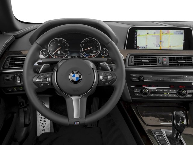2017 BMW 6 Series Prices and Values Convertible 2D 640i I6 driver's dashboard