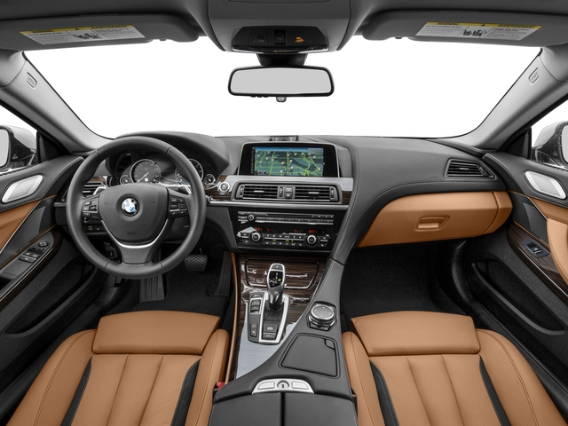 2017 BMW 6 Series Prices and Values Coupe 2D 640xi AWD I6 full dashboard