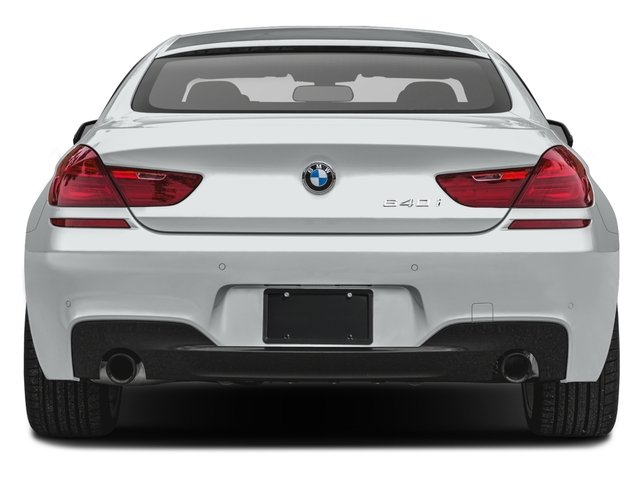 2017 BMW 6 Series Prices and Values Sedan 4D 640xi AWD I6 rear view