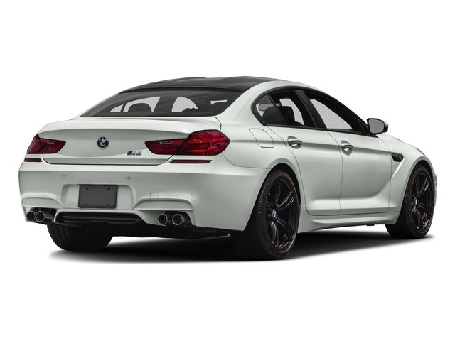 2017 BMW M6 Prices and Values Sedan 4D M6 V8 side rear view