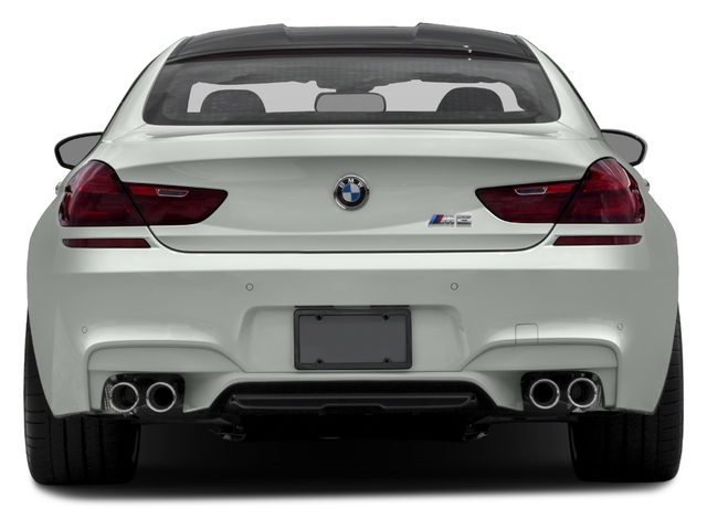 2017 BMW M6 Prices and Values Sedan 4D M6 V8 rear view