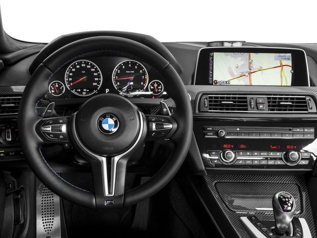 2017 BMW M6 Pictures M6 Sedan 4D M6 V8 photos driver's dashboard