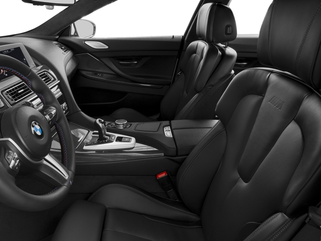 2017 BMW M6 Prices and Values Sedan 4D M6 V8 front seat interior