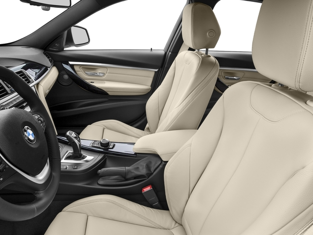2017 BMW 3 Series Prices and Values Sedan 4D 328d I4 T-Diesel front seat interior