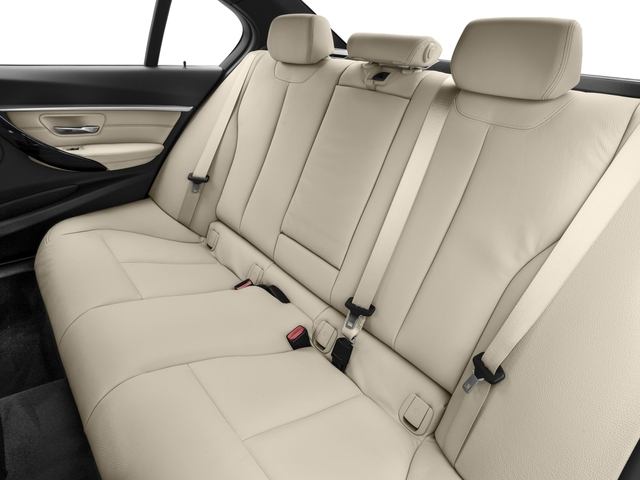2017 BMW 3 Series Prices and Values Sedan 4D 328d I4 T-Diesel backseat interior
