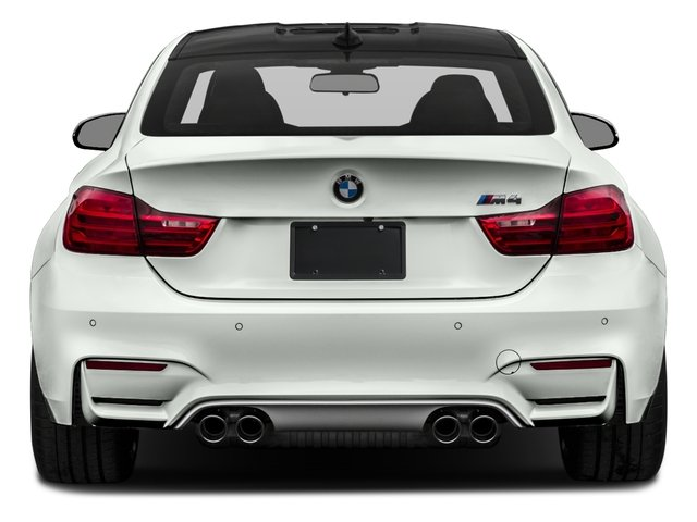 2017 BMW M4 Prices and Values Coupe 2D M4 I6 Turbo rear view
