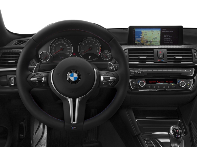 2017 BMW M4 Prices and Values Coupe 2D M4 I6 Turbo driver's dashboard