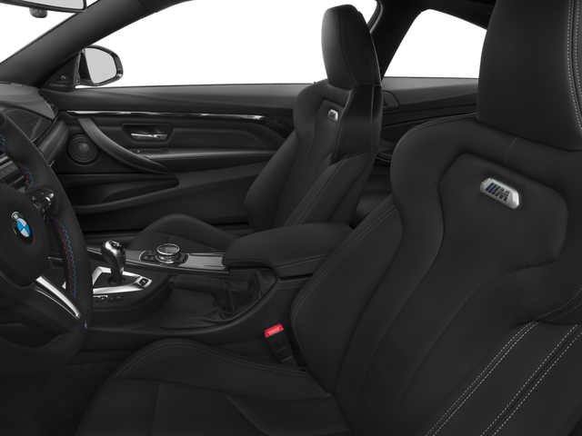 2017 BMW M4 Prices and Values Coupe 2D M4 I6 Turbo front seat interior