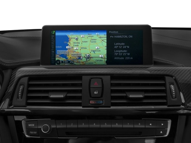 2017 BMW M4 Prices and Values Coupe 2D M4 I6 Turbo navigation system