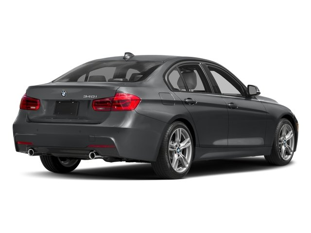 2017 BMW 3 Series Pictures 3 Series Sedan 4D 340i I6 Turbo photos side rear view