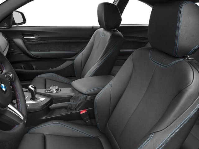 2017 BMW M2 Prices and Values Coupe 2D M2 I6 Turbo front seat interior