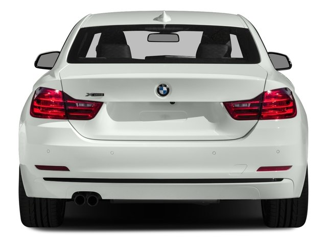 2017 BMW 4 Series Prices and Values Coupe 2D 430i i4 Turbo rear view