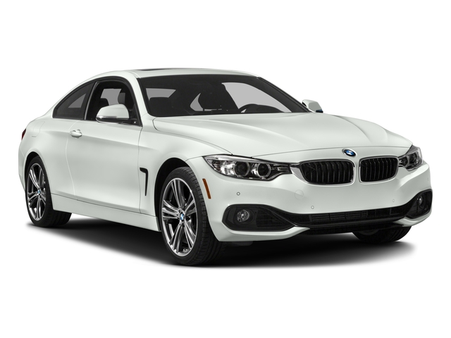 2017 BMW 4 Series Prices and Values Coupe 2D 430i i4 Turbo side front view