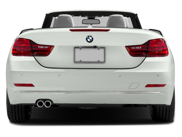 2017 BMW 4 Series Prices and Values Convertible 2D 430i I4 Turbo rear view