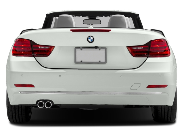 2017 BMW 4 Series Pictures 4 Series Convertible 2D 430i I4 Turbo photos rear view