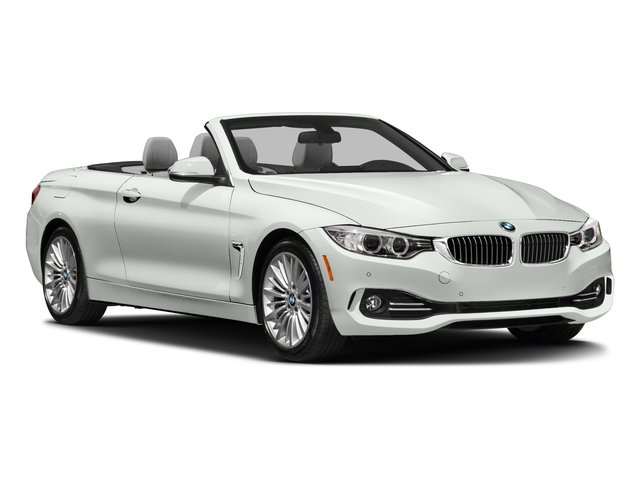 2017 BMW 4 Series Prices and Values Convertible 2D 430i I4 Turbo side front view