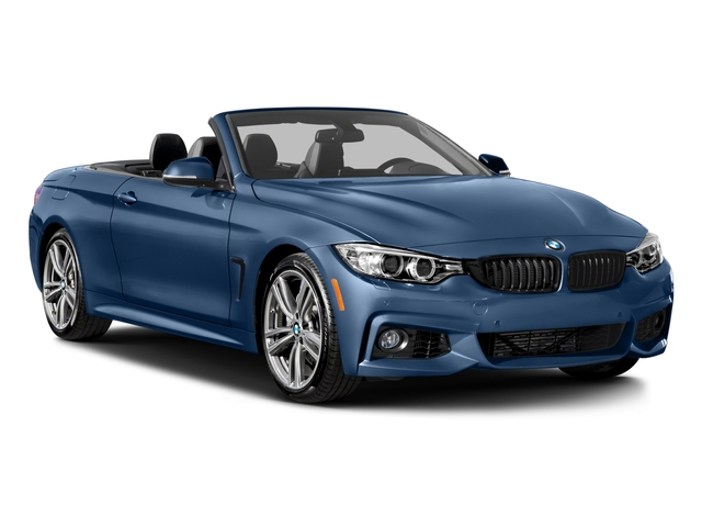 2017 BMW 4 Series Prices and Values Convertible 2D 440i I6 Turbo side front view