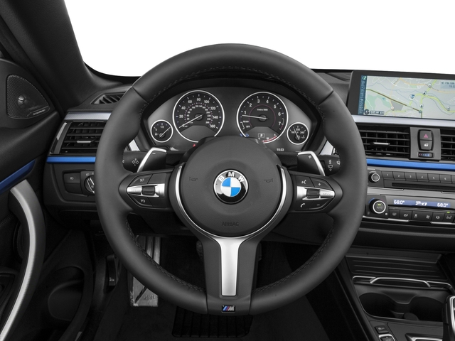 2017 BMW 4 Series Prices and Values Convertible 2D 440i I6 Turbo driver's dashboard