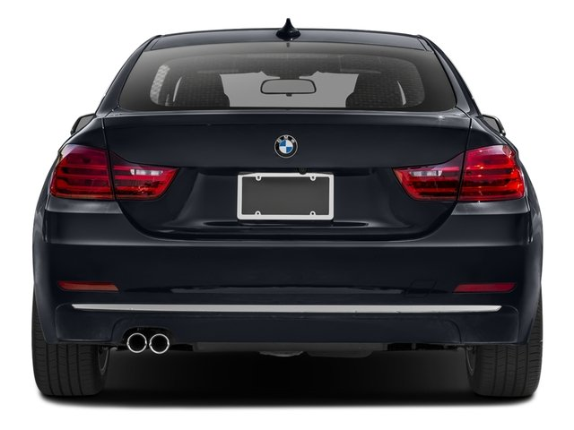 2017 BMW 4 Series Pictures 4 Series Sedan 4D 430xi AWD I4 Turbo photos rear view