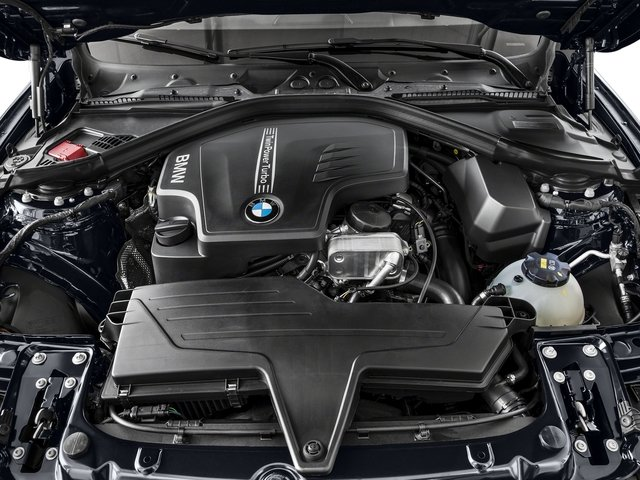 2017 BMW 4 Series Pictures 4 Series Sedan 4D 430xi AWD I4 Turbo photos engine