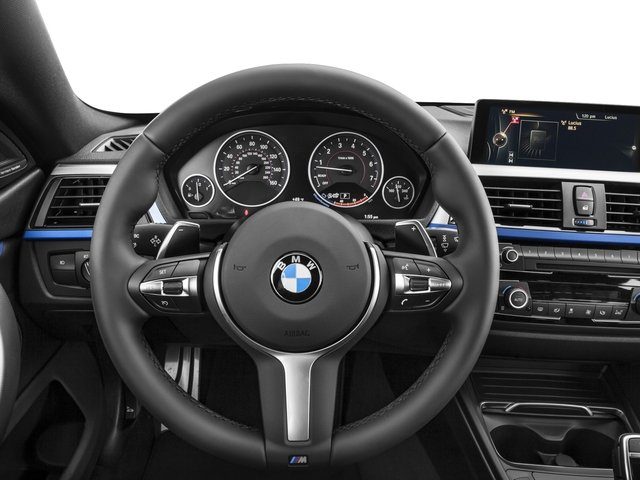 2017 BMW 4 Series Prices and Values Sedan 4D 440i I6 Turbo driver's dashboard