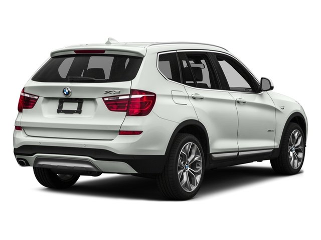 2017 BMW X3 Prices and Values Utility 4D 28d AWD I4 T-Diesel side rear view