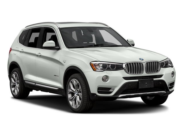 2017 BMW X3 Prices and Values Utility 4D 28d AWD I4 T-Diesel side front view