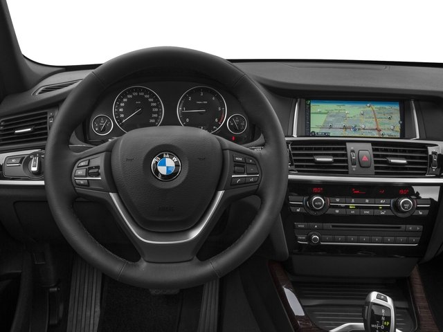 2017 BMW X3 Prices and Values Utility 4D 28d AWD I4 T-Diesel driver's dashboard