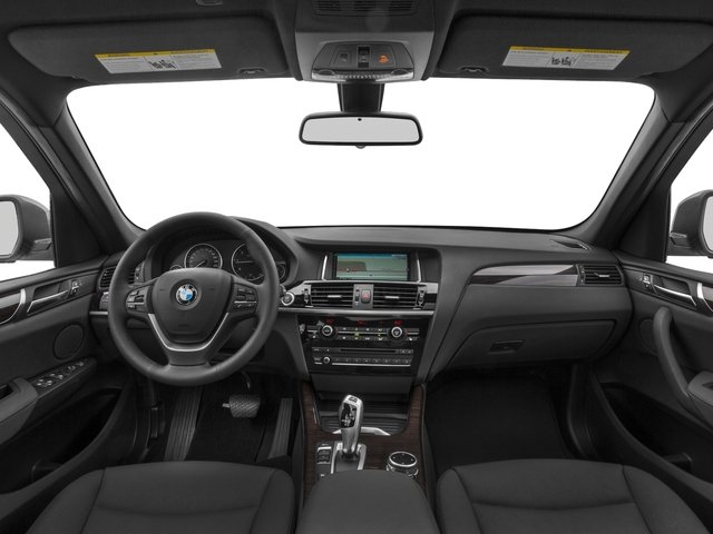 2017 BMW X3 Prices and Values Utility 4D 28d AWD I4 T-Diesel full dashboard