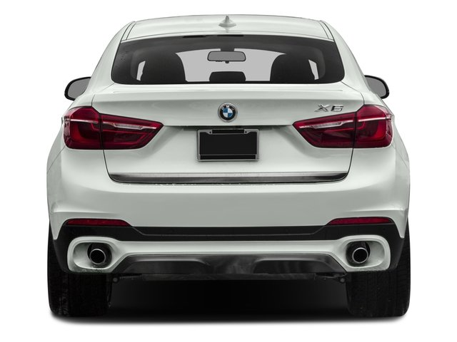 2017 BMW X6 Pictures X6 Utility 4D sDrive35i 2WD I6 Turbo photos rear view