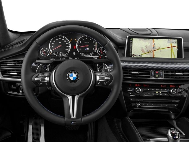 2017 BMW X5 M Prices and Values Utility 4D M AWD V8 Turbo driver's dashboard